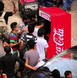 COCA-COLA'DAN ÇEVRE DOSTU ATARİ OYUNU