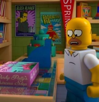 LEGO MOVIE'DEN DAHA İYİ BİR ŞEY VARSA O DA THE SIMPSONS'TIR