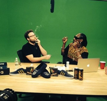 SETH ROGEN VE SNOOP DOGG'IN OT SEFASI