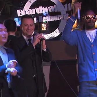 SNOOP DOGG, PSY VE JIMMY KIMMEL İLE KARAOKE KEYFİ