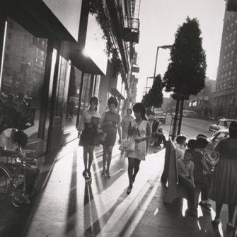 60'LARDA NEW YORK VE LOS ANGELES İHTİŞAMI