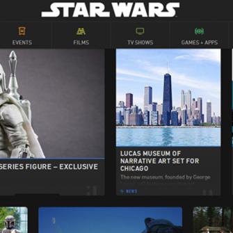 STAR WARS WEB SİTESİ YENİLENDİ