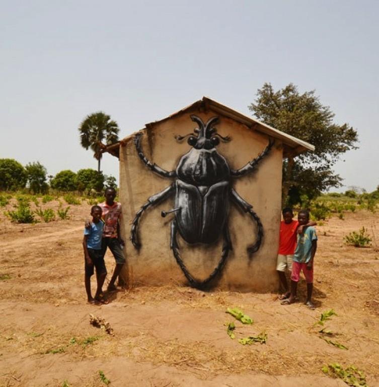 AFRİKA'YI MURAL'A DOYURAN ADAM: ROA
