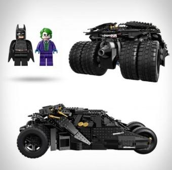 LEGO'DAN DEV HİZMET: BATMOBILE EMRİNİZE AMADE