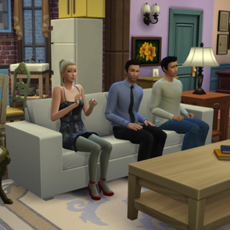 THE SIMS 4, FRIENDS VE SEINFELD'E DADANDI