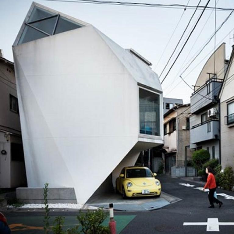TOKYO'NUN ÇOK ÇOK ACAYİP BİNALARI BİR ARADA