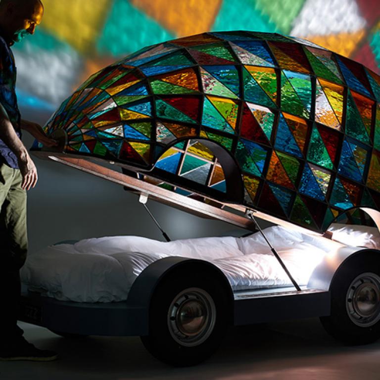 Arabalı Yatak Çilek