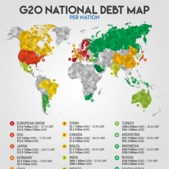 G20'NİN BORÇ İÇİNDE YÜZEN DEVLETLERİ