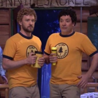 JUSTIN TIMBERLAKE VE JIMMY FALLON'IN VUSLATI