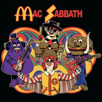 MCDONALD'S ESİNTİLİ METAL GRUBU: MAC SABBATH
