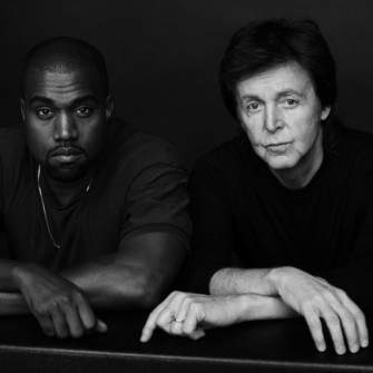 KANYE WEST VE PAUL MCCARTNEY ÜÇLÜ ÇEKTİRMEYE GELDİ