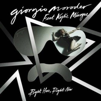 GIORGIO MORODER + KYLIE MINOGUE = RIGHT HERE, RIGHT NOW