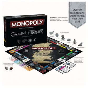 GAME OF THRONES MONOPOLY İLE DEMİR TAHTA ÇIKIN