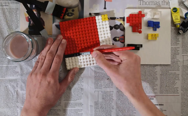 TUVALİNİZ: LEGO BOYANIZ: LEGO ESERİNİZ: LEGO