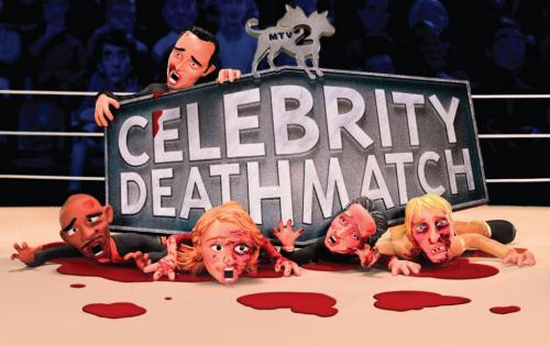 MTV'NİN KÜLT PROGRAMI CELEBRITY DEATHMATCH GERİ DÖNÜYOR