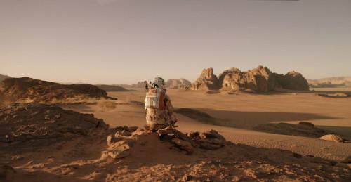 MATT DAMON'I INTERSTELLAR'DAN SONRA MARS'A BIRAKIP KAÇMIŞLAR