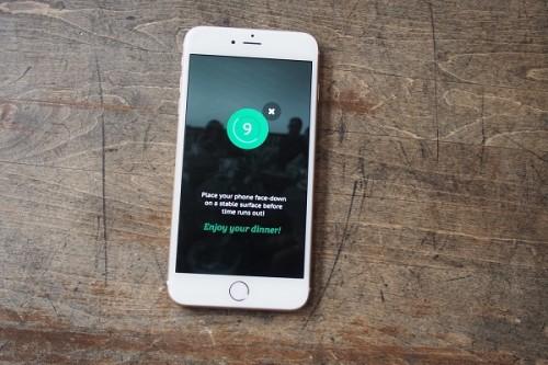 TABAĞINIZDAKİ YEMEK BİTMEDEN TELEFONU ELLETMEYEN MOBİL UYGULAMA