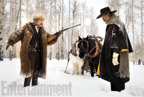 YENİ QUENTIN TARANTINO FİLMİ THE HATEFUL EIGHT'TEN SIRA SIRA FOTOĞRAF