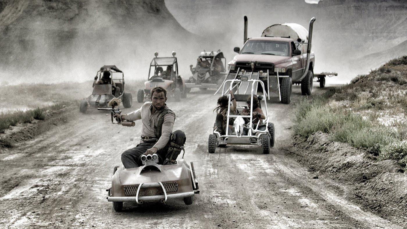 MAD MAX: FURY ROAD'U GO KART'LARLA BİREBİR ÇEKMEK