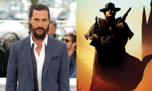 STEPHEN KING'İN THE DARK TOWER'I GÖZÜNE MATTHEW MCCONAUGHEY'İ KESTİRDİ