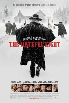 THE HATEFUL EIGHT'TEN ATEŞ EDEN POSTER