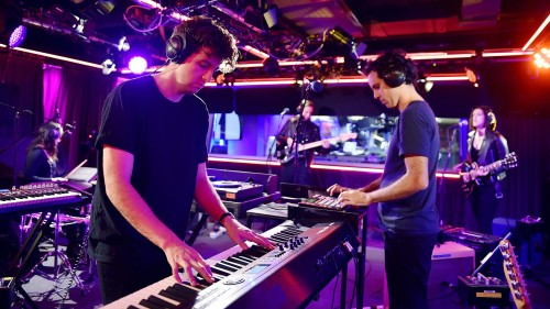 JAMIE XX, THE XX VE FOUR TET'TEN CANLI PERFORMANS AÇILIMI