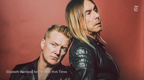 JOSH HOMME VE IGGY POP'TAN ALBÜM: POST POP DEPRESSION
