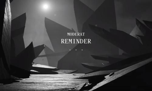 MODERAT'TAN YENİ VİDEO: REMINDER