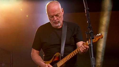 DAVID GILMOUR'DAN HARİKA WISH YOU WERE HERE PERFORMANSI