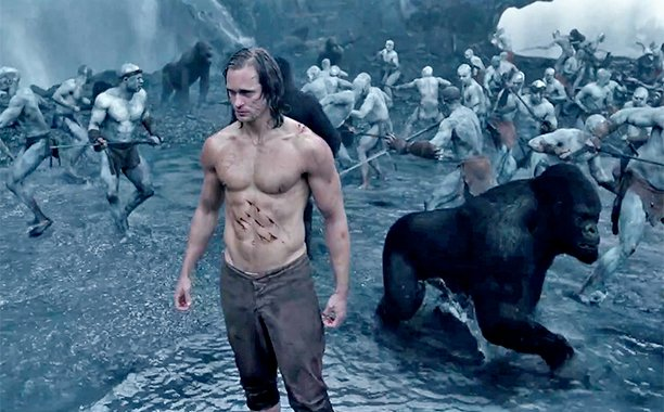 ALEXANDER SKARSGÅRD'LI THE LEGEND OF TARZAN'DAN FRAGMAN