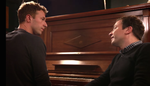 JIMMY FALLON VE CHRIS MARTIN'DEN DAVID BOWIE COVER'I