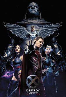 X-MEN: APOCALYPSE'TEN THE FOUR HORSEMEN'Lİ POSTER