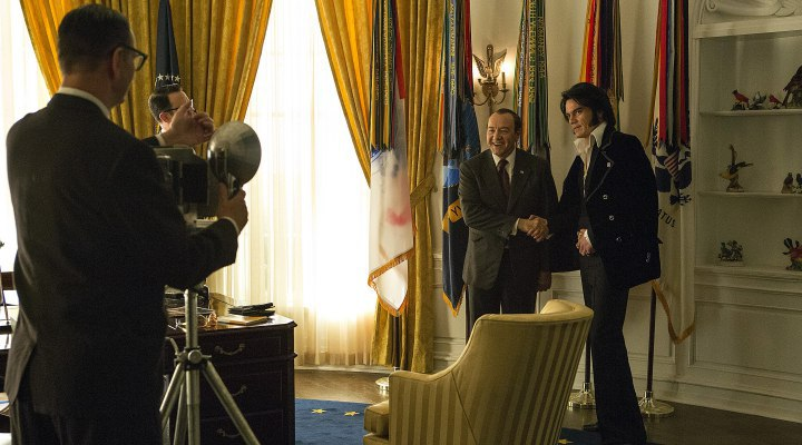 KEVIN SPACEY VE MICHAEL SHANNON'LI ELVIS & NIXON'DAN FRAGMAN