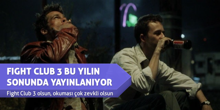 FIGHT CLUB 3 BU YILIN SONUNDA YAYINLANIYOR