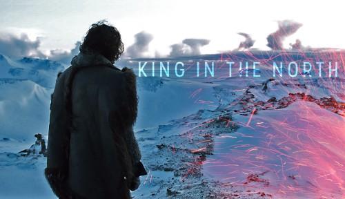JON SNOW İÇİN HAZIRLANAN HARİKA BİR VİDEO: KING IN THE NORTH