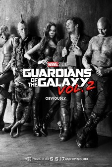 GUARDIANS OF THE GALAXY 2'DEN İLK POSTER