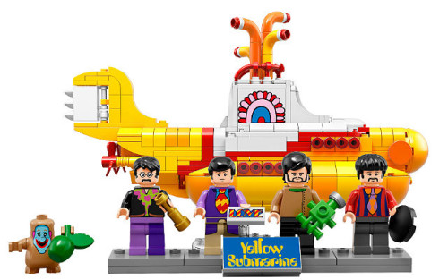 LEGO THE BEATLES SETİ SATIŞTA