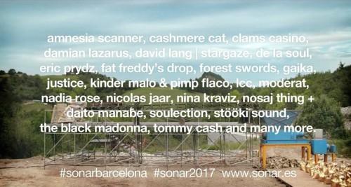 SÓNAR BARCELONA'DA İLK İSİMLER AÇIKLANDI