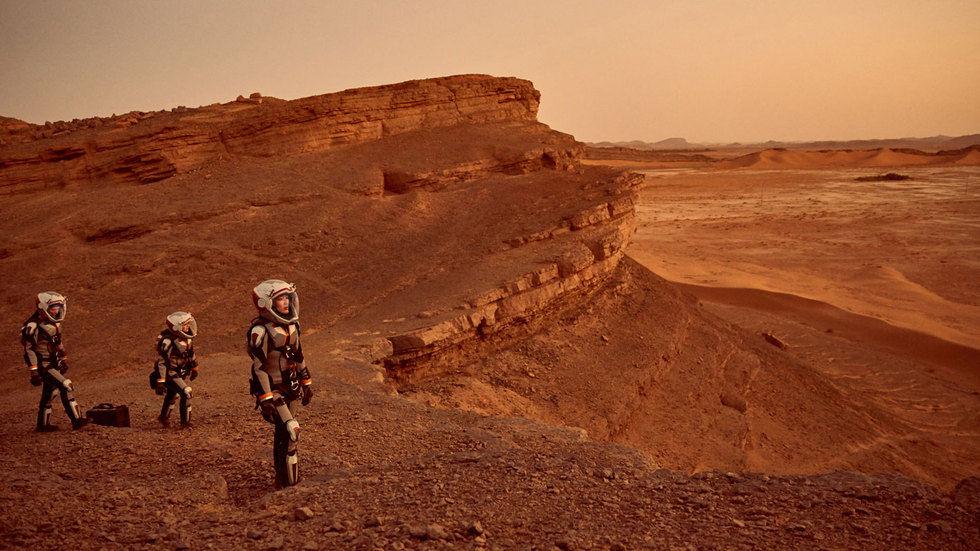 KALKIŞA HAZIRLANIN, NAT GEO DİZİSİ MARS'IN İLK BÖLÜMÜ SİZLERLE!