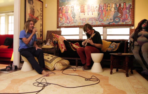 İKİ EFSANE BİR ARADA: IGGY POP & THURSTON MOORE