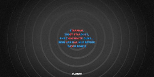 STARMAN, ZIGGY STARDUST, THE THIN WHITE DUKE… SENİ HER HALİNLE SEVDİK DAVID BOWIE