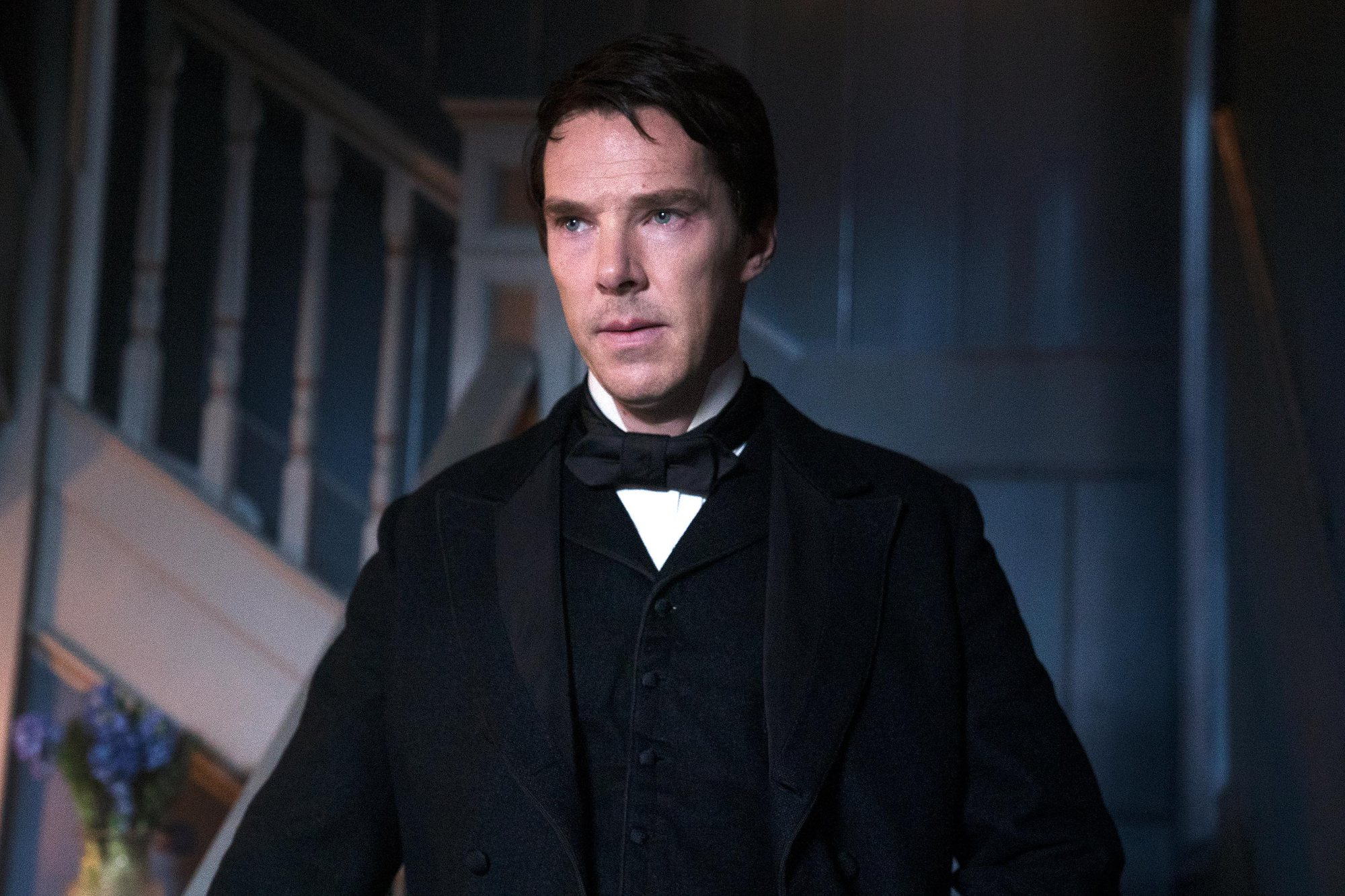 *FIRST LOOK* Benedict Cumberbatch as Thomas Edison CR: The Weinstein Co.