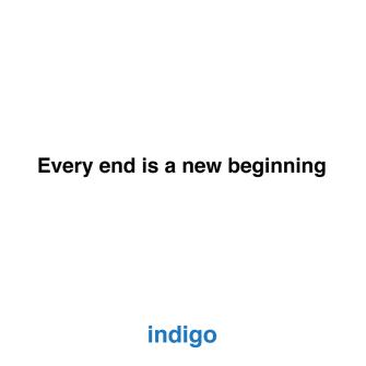 INDIGO VEDA ETTİ…
