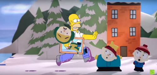 THE SIMPSONS'TAN ROBOT CHICKEN VE SOUTH PARK'LI YENİ COUCH GAG