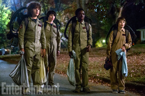 STRANGER THINGS'TEN YENİ GÖRSEL VE TÜYOLAR