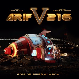 ARİF V 216'DAN İLK AFİŞ YAYINLANDI