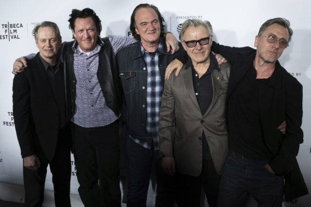 Harvey Keitel, Tim Roth, Michael Madsen, Steve Buscemi, Quentin Tarantino