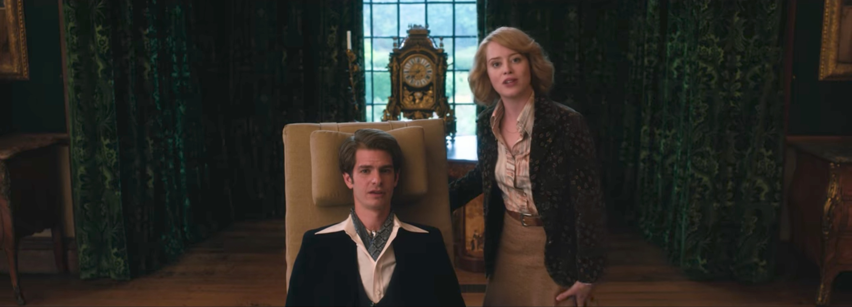ANDREW GARFIELD VE CLAIRE FOY'LU BREATHE'DEN İLK FRAGMAN