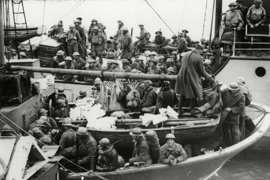 WWII ALLIES RESCUED AT DUNKIRK, United Kingdom England