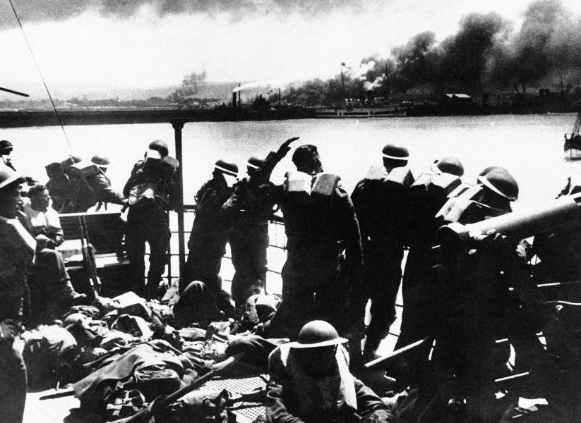 WWII France Dunkirk Evacuation, France